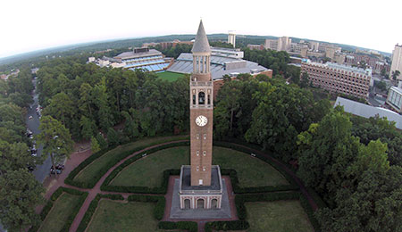 Bell Tower and Kenan Stadium