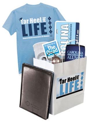 Tar Heel for Life Guft Bag