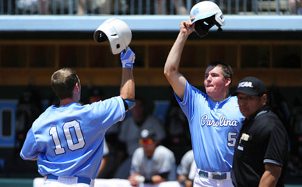 Heels head to the College World Series