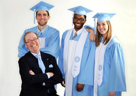 True Blue Alumnus Creates New Commencement Gowns Unc General