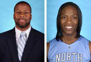 Devon Ramsay '12 and Rashanda McCants '09.
