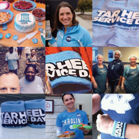 Chapel Hill: Tar Heel Service Day at Get Real and Heel