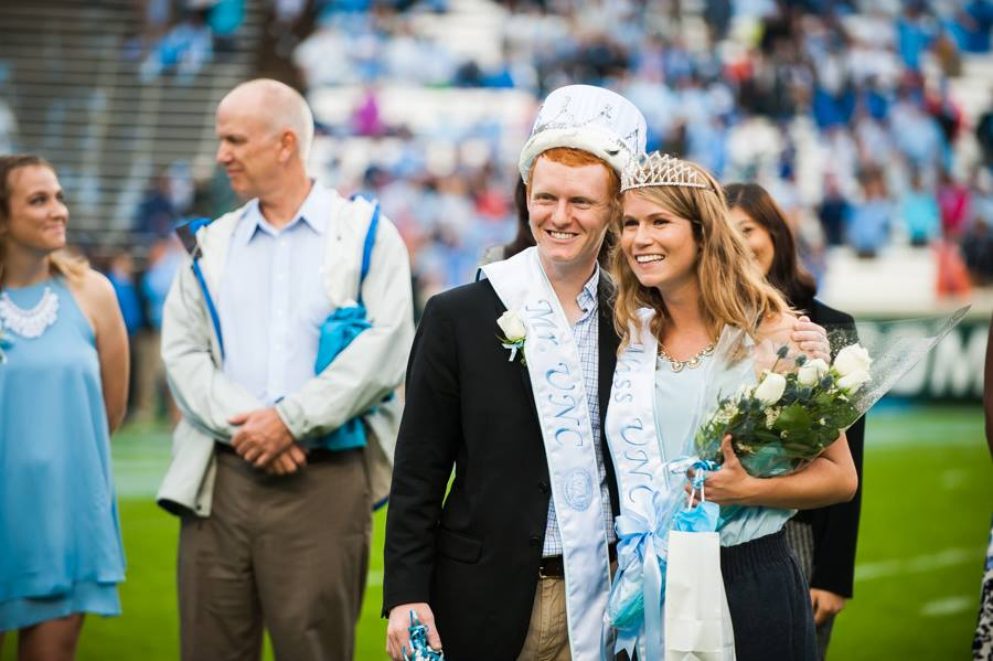 2015 Mr. and Miss UNC, Dale Bass and Adeline Dorough