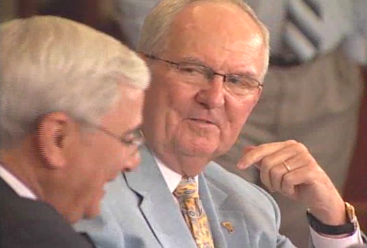 Woody Durham retirement.