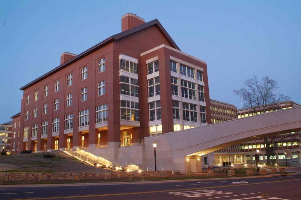Koury Oral Health Sciences Building.