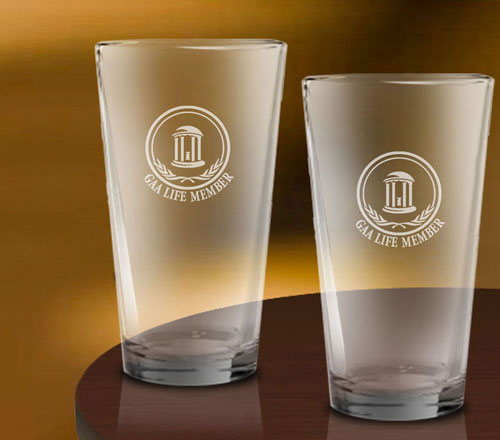 pint glasses life member