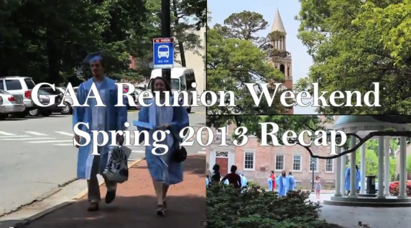 UNC Spring Reunion Weekend
