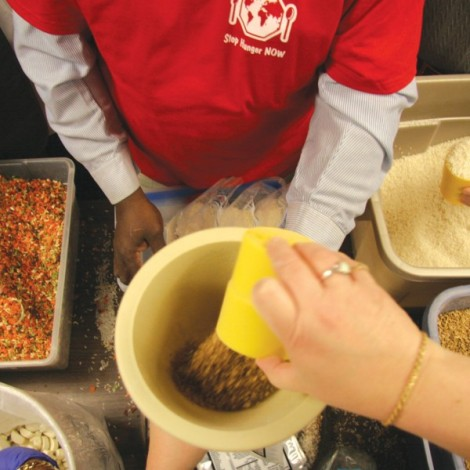 Tar Heel Service Day: Stop Hunger Now