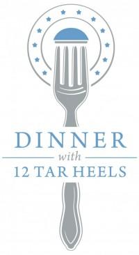 Dinner with 12 Tar Heels