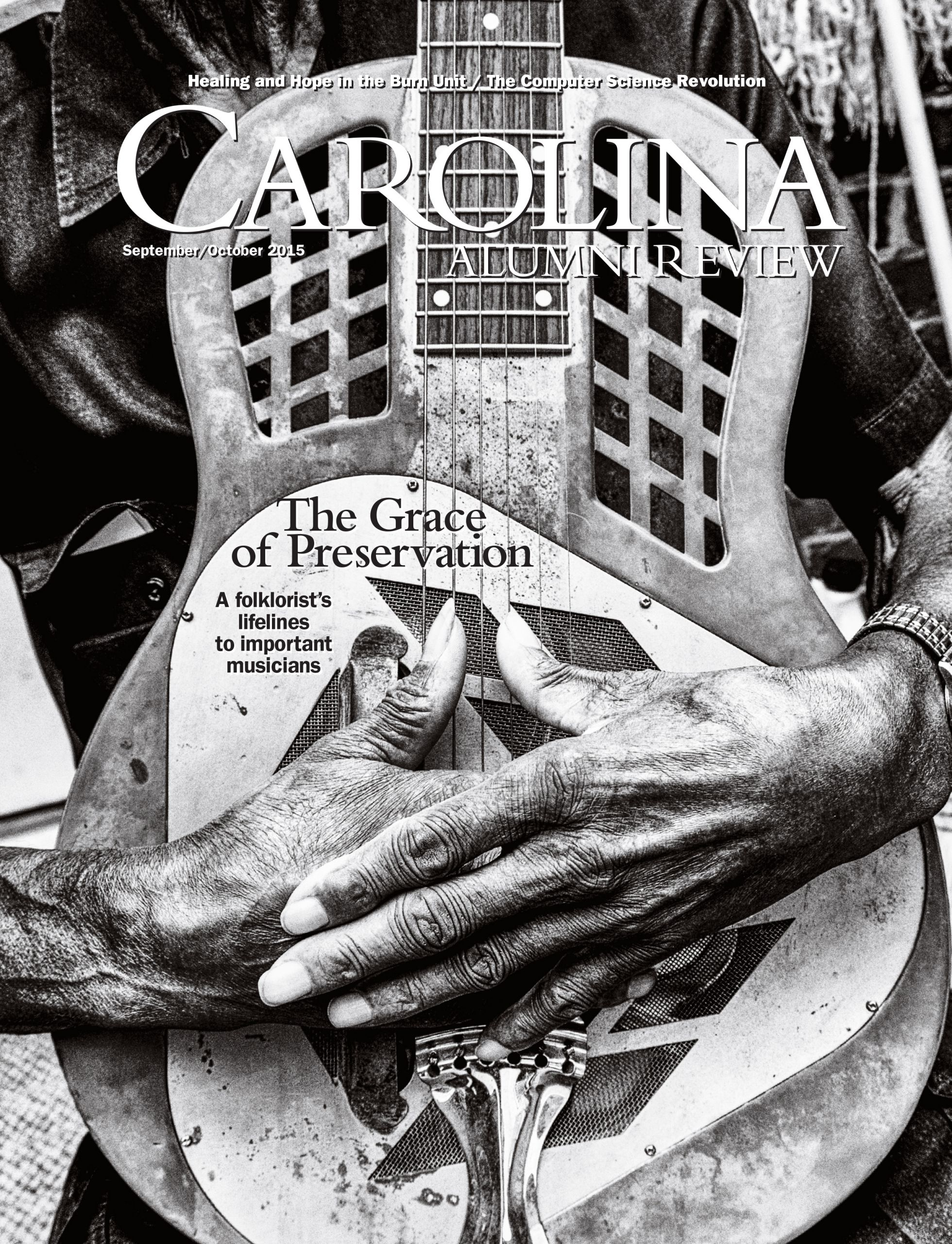 Carolina Alumni Review September/October 2015 cover