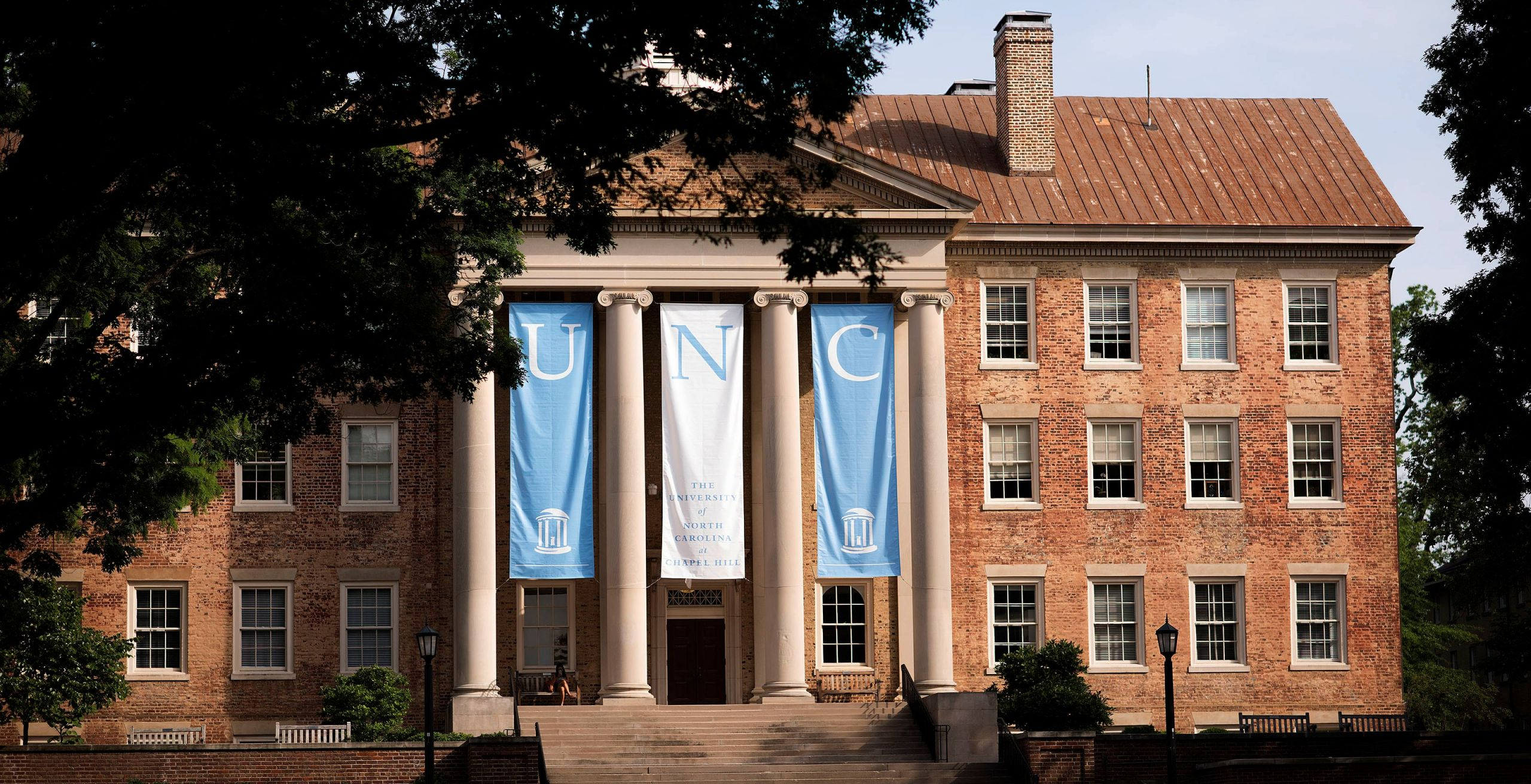 South Building. (UNC photo by Jon Gardiner '98)