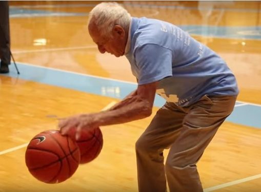 96-year-old UNC basketball legend Bobby Gersten