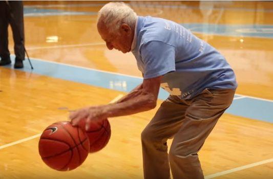 96-year-old UNC basketball legend Bobby Gersten