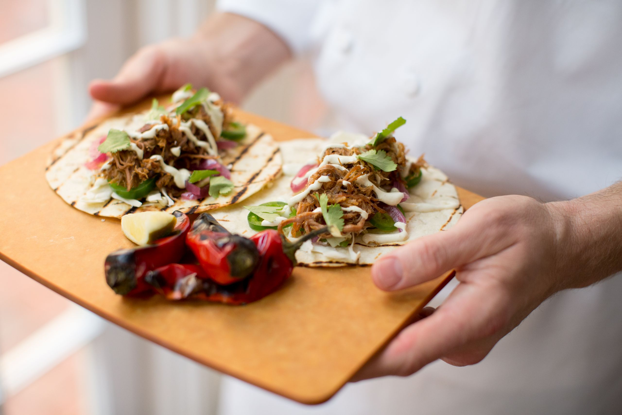Smokey Beef Shortrib Tacos (The Carolina Inn photo)