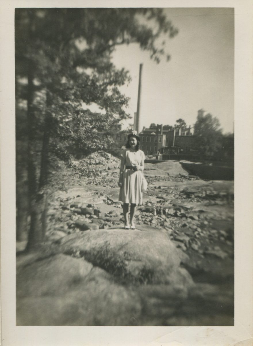 Photo collected at the History Harvest showing the mill in the 1940s.