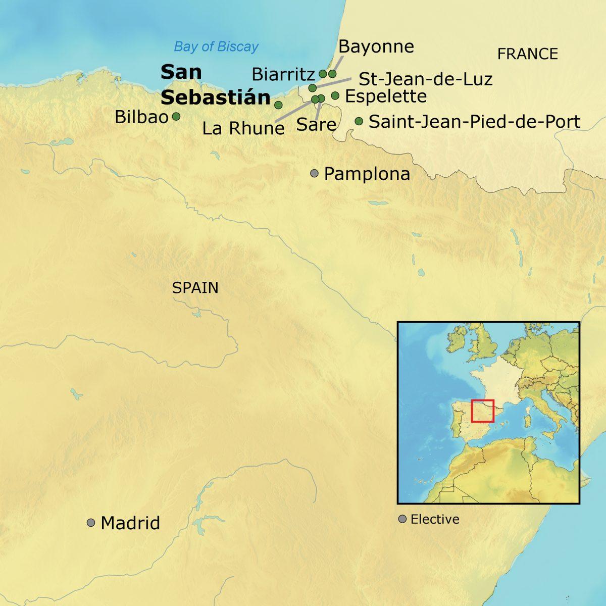 ACA Basque Country UNC General Alumni Association - Basque centers us map