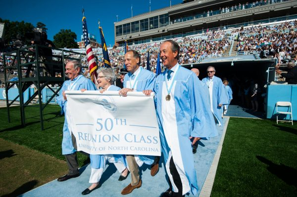 Class of '67 Takes Its Star Turn at Carolina's Commencement