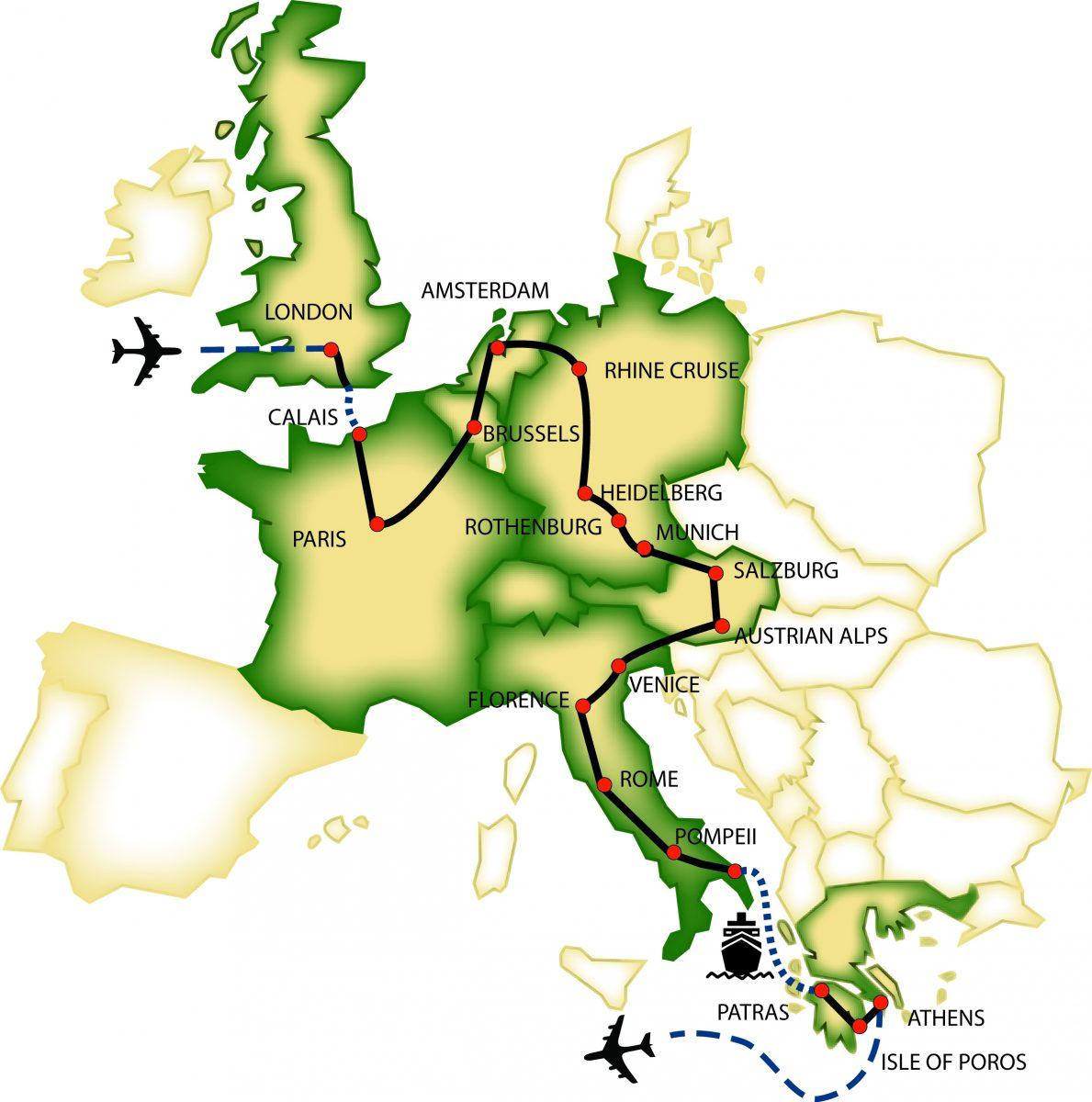 Caprice map