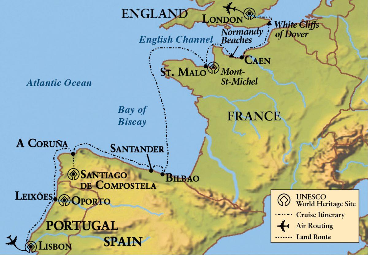 Gohagan_EuropeanCoastal_LeBoreal_2018_Map