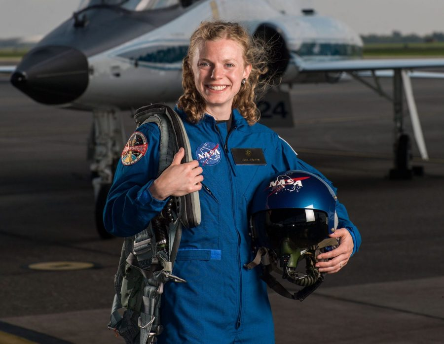 NASA Astronaut Zena Cardman '10 ('14) (Photo by Robert Markowitz, NASA)