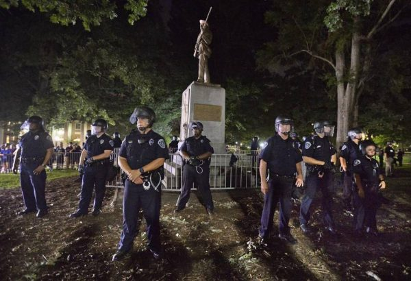 On First Day of Class, a Massive Rally Against Silent Sam