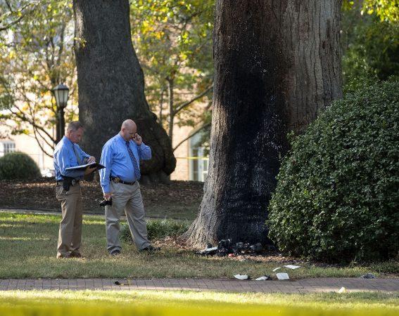 Professor Hurt, Suspect Charged in Fire, Explosion at Davie Poplar