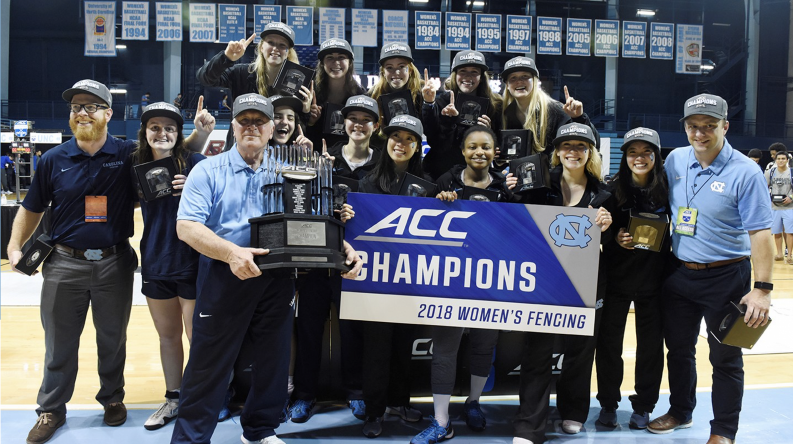 Women's fencing wins ACC Championship