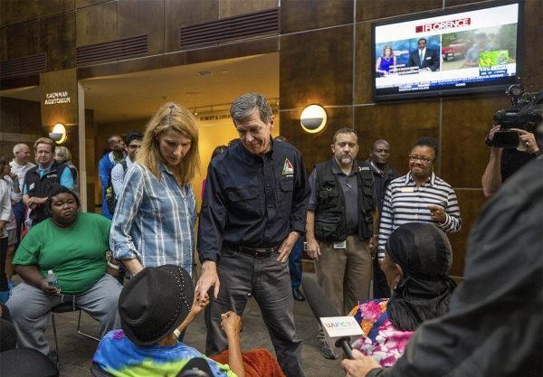 UNC's Friday Center Shelters Hurricane Victims