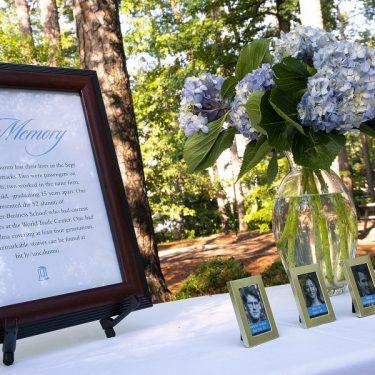 Carolina Honors the Legacies of Alumni Lost on 9/11