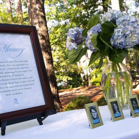 Carolina Honors Legacies of Alumni Lost on 9/11