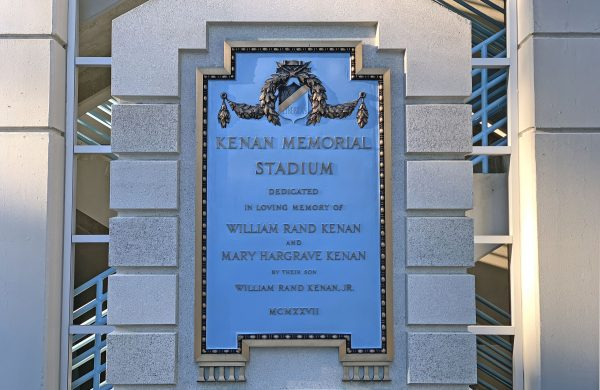 UNC to Remove Kenan Sr. Name from Stadium Plaque