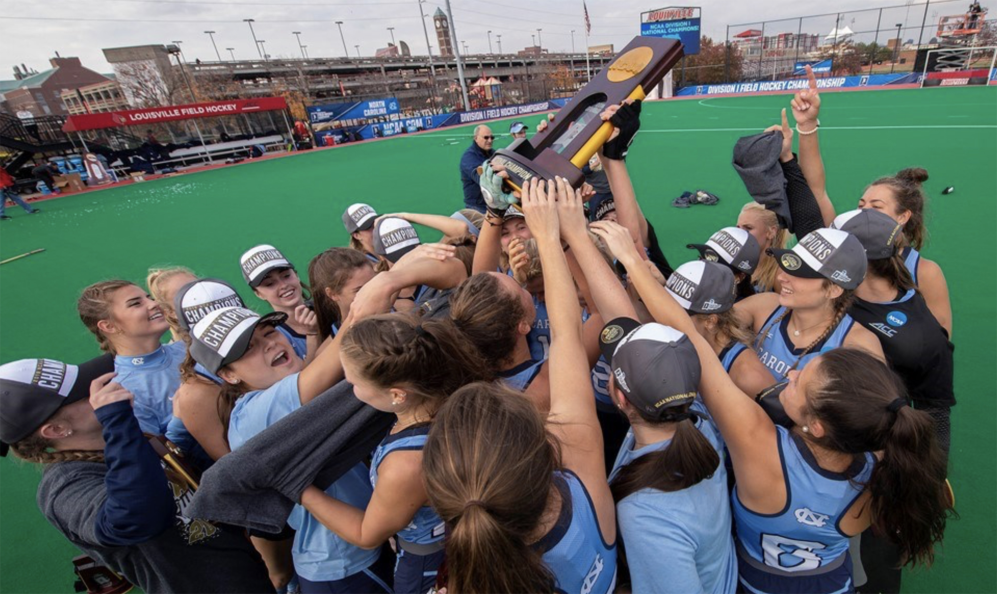 Field Hockey celebration