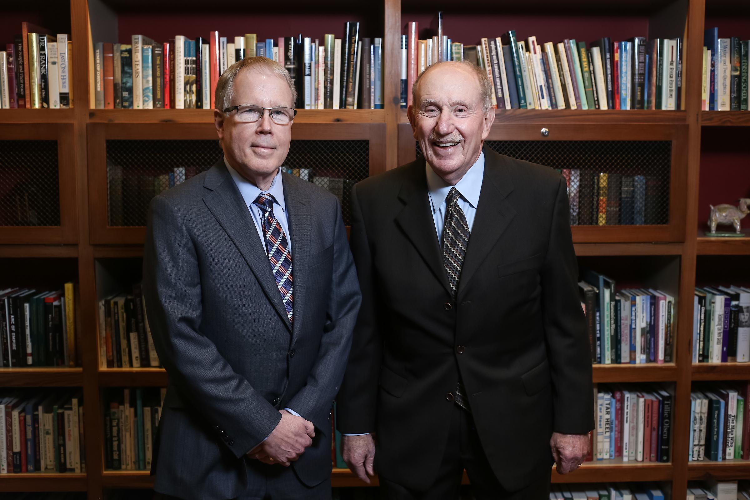 James Leloudis and Kenneth Broun