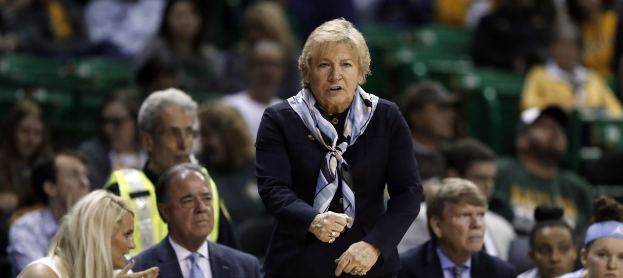 Coach Sylvia Hatchell