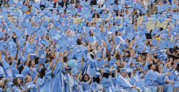 """Godspeed, Class of 2019, and Go Heels."" – Jonathan Reckford '84"