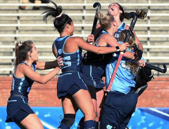 Field Hockey — Unbeaten Again — Wins Eighth National Title