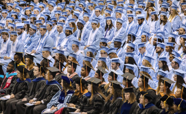 "Ferris to New Grads: ""Never Stop Listening"""
