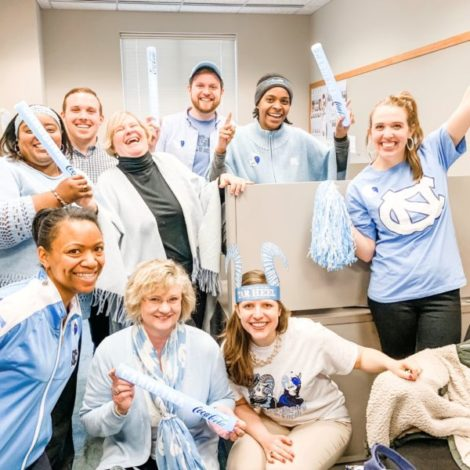 Tar Heel Takeover - Office Style