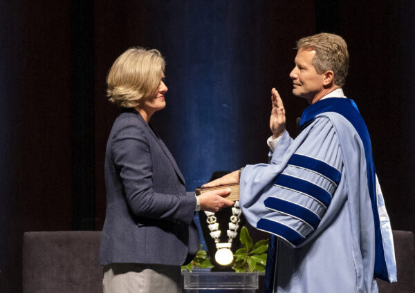Kevin Guskiewicz Installed as 12th Chancellor