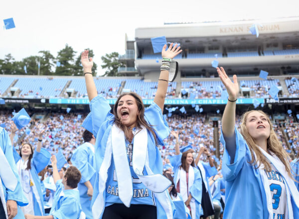 """""""It's Really Cool to Be Back"""":Class of 2020 Returns for Pandemic-Delayed Commencement"""